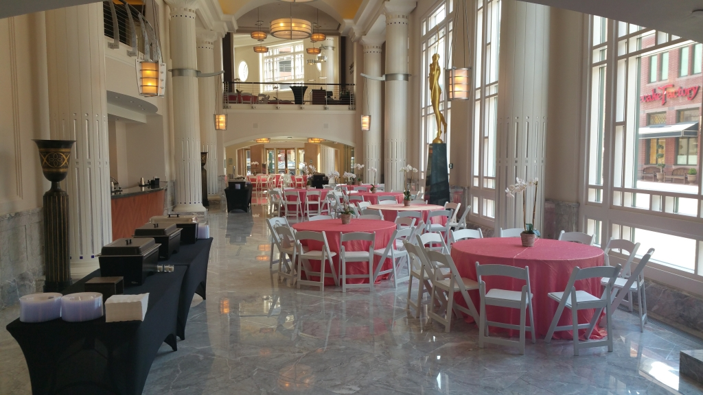 bass hall reception