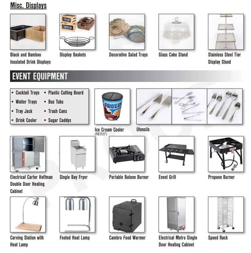 Catering Equipment Gallery