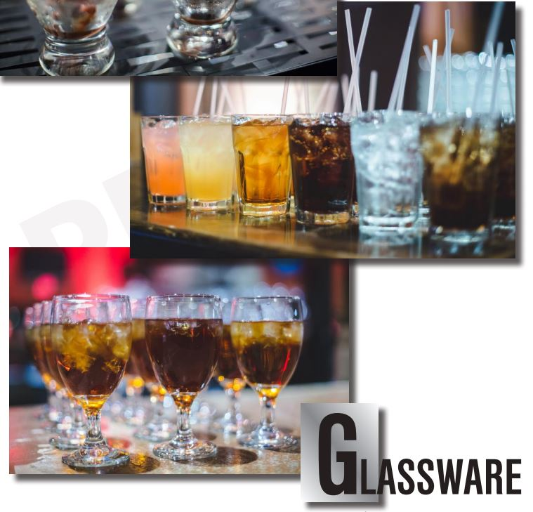 Glassware Gallery Frontpage , Catering Equipment Gallery