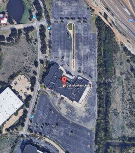 The parking lot Map - Event venue in Dallas