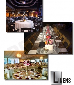 Linens Gallery, Catering Equipment Gallery