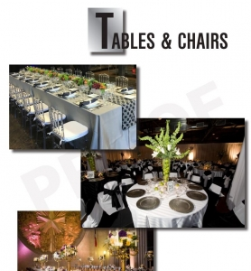 Tables Chairs Gallery Event Equipment By One Of Best Dallas Caterer (G Texas Catering )